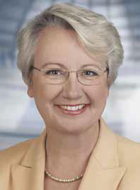 Prof. Dr. Annette Schavan, députée au BundestagMinistre fédérale de l'Éducation et de la Recherche