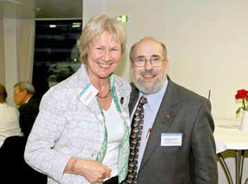 Mme Framheim et M. Webber – deux initiateurs de la collaboration universitaire entre le Baden-Württemberg et l'Ontario