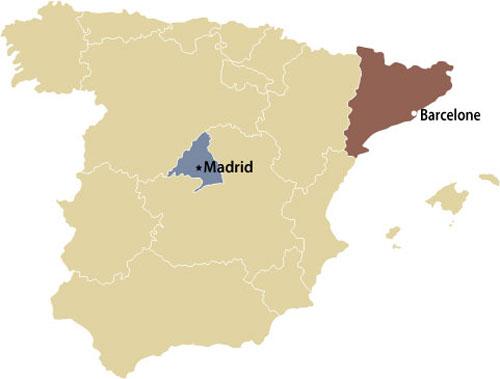 Carte De Lespagne Barcelone.Exporter Innover Et Investir En Espagne Le Service Des Delegues